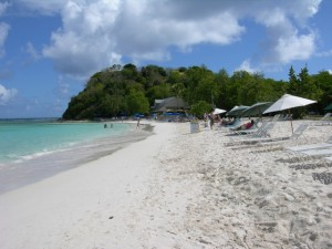 Long Bay - one of the many lovely beaches on Antigua