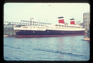The SS United States - Then