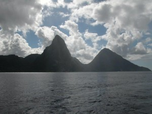 July 12 Contest Photo - Pitons of St. Lucia