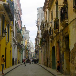 Street in Havana - photo from Globus Journeys collectoin