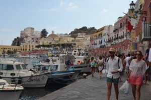 Picturesque Ponza Waterfront