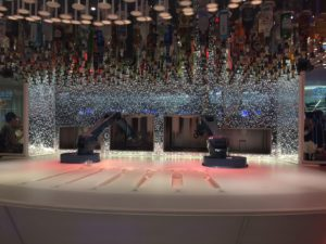 Harmony of the Seas has a bionic bar like the one found on the Anthem of the Seas